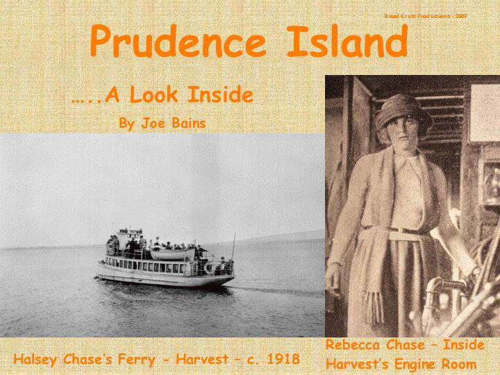 prudence island dating Ferry service, available year-round to prudence island, departs from the church street wharf (weather permitting) at thames and church streets phone (401) 683-0430 for schedule and fee.